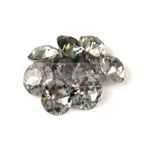 Swarovski chaton - 8mm -  Black Diamond - 1088