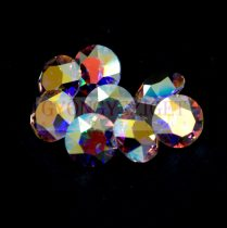Swarovski chaton - 6mm -  Crystal AB - xirius - unfoiled