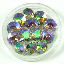 Swarovski chaton - 8mm -  Crystal Paradise Shine