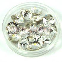 Swarovski chaton - 6mm -  Crystal  - xirius
