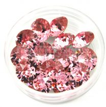 Swarovski chaton - 8mm -  Light rose