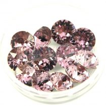 Swarovski chaton - 8mm -  Light Amethyst  - 1088