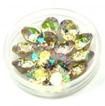 Swarovski chaton - 8mm -  Crystal Luminous Green  - xirius