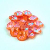 Swarovski chaton - 8mm -  Crystal Orange Glow DeLite