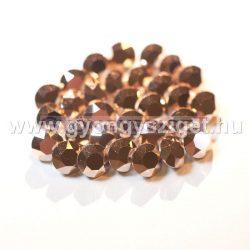 Swarovski chaton - 8mm -  Crystal Rose Gold