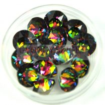Swarovski chaton - 8mm -  Crystal Vitral Medium