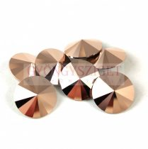 Swarovski rivoli 12mm - Crystal Rose Gold