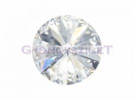 Swarovski rivoli ss47 - Crystal (fóliázott)
