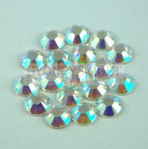 Swarovski ragasztható kristály - ss30 - Crystal AB