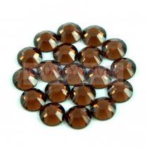 Swarovski ragasztható kristály - ss30 (6.32 - 6.50 mm) - Smoked Topaz