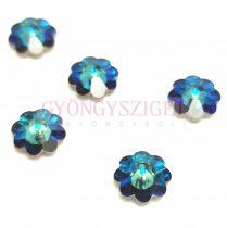Swarovski crystal marguerite - 10mm - Bermuda Blue