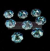 Swarovski - középen fúrt margaréta - 10mm - Crystal Shimmer