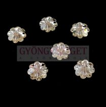 Swarovski - középen fúrt margaréta - 10mm - Crystal