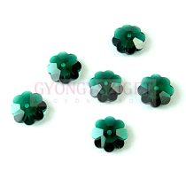Swarovski - középen fúrt margaréta - 10mm - Emerald