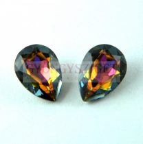 Swarovski pear - Crystal Volcano - 14x10mm