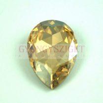 Swarovski - 4327 - 30x20 mm - körte alakú medál - Crystal Golden Shadow