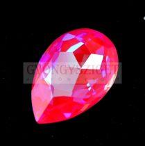 Swarovski - 4327 - 30x20 mm - körte alakú medál - Crystal Lotus Pink