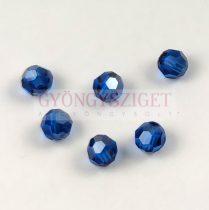 Swarovski MC round bead 6mm - Capri Blue Satin