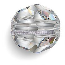 Swarovski csiszolt golyó - Crystal - 6mm