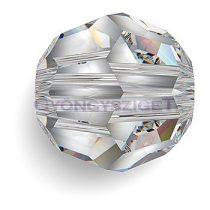 Swarovski csiszolt golyó - Crystal - 8mm