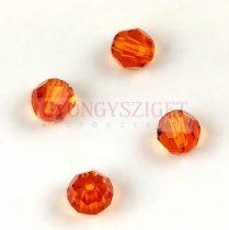 Swarovski csiszolt golyó 8 mm - Tangerine