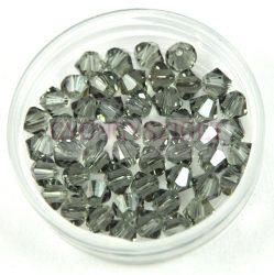 Swarovski bicone 4mm - Black Diamond