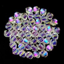 Swarovski bicone 4mm - Crystal Shimmer 2x