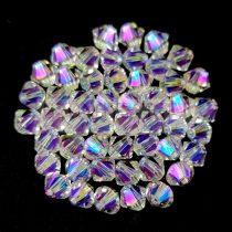 Swarovski bicone 3mm - Crystal Shimmer 2x