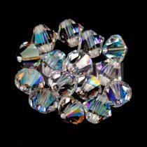 Swarovski bicone 6mm - Crystal Shimmer