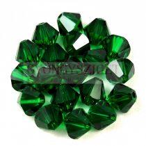 Swarovski bicone 6mm - Medium Emerald