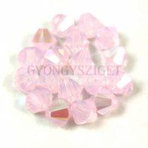 Swarovski bicone 6mm - Rose Water Opal Shimmer