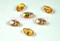 Swarovski - 5728 - Scarabaeus gyöngy - Crystal Metallic Sunshine - 12mm