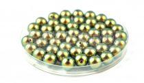 Swarovski igazgyöngy utánzat - Crystal Iridescent Green - 12mm