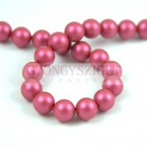 Swarovski igazgyöngy utánzat - Crystal Mulberry Pink - 6mm