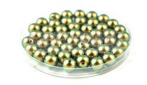 Swarovski imitation pearl -  Iridescent Green - 8mm - semi-drilled