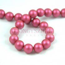 Swarovski imitation pearl - Mulberry Pink - 8mm - semi-drilled