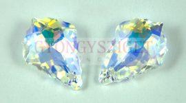 Swarovski - 6090 - barokk csepp - 22x15mm - Crystal AB