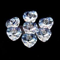 Swarovski fűzhető szív 10.3x10.0 mm - Crystal Moonlight