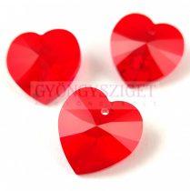 Swarovski beadable heart 18 x 17.5 mm - Light Siam