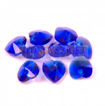 Swarovski fűzhető szív - 10.3x10.0mm - Majestic Blue