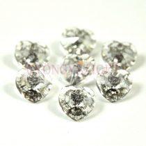 Swarovski fűzhető szív 10.3x10.0 mm - Crystal Silver Patina