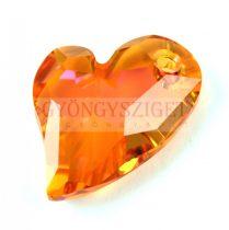 Swarovski Devoted 2 U Heart 17mm - Crystal Astral Pink