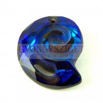 Swarovski - 6731 - Seasnail pendant - Crystal Bermuda Blue - 28mm
