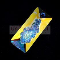 Swarovski Pendant - Growing Crystal Rectangle - Crystal AB - 36mm