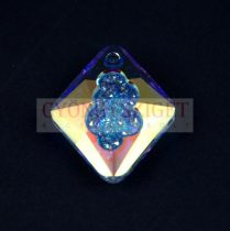 Swarovski Pendant - Growing Crystal Rhombus - Crystal AB - 26mm