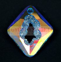 Swarovski Pendant - Growing Crystal Rhombus - Crystal AB - 36mm