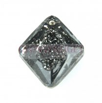 Swarovski Pendant - Growing Crystal Rhombus - Crystal Silver Night - 26mm