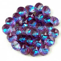 Swarovski chaton - 8mm -  Crystal Burgundy DeLite