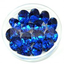 Swarovski chaton - 8mm -  Capri Blue  - 1088