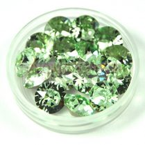 Swarovski chaton - 8mm -  Chrysolite  - 1088